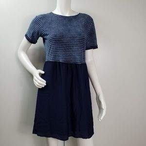 Jane and Delancey Dress Striped Lined Sz XS  2367